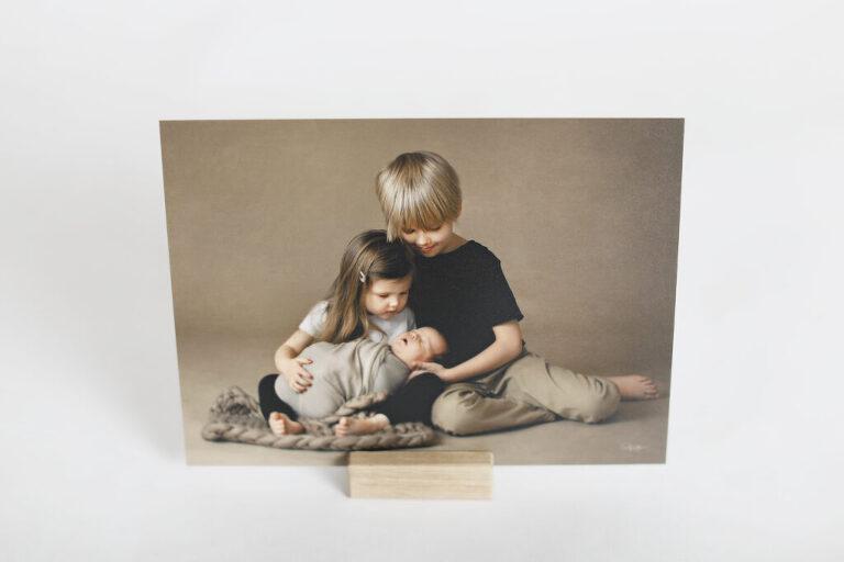 Julkort, julbild, julporträtt, syskonbild, studiofotografering, fotografskåne, barnfotograf, fotografhelsingborg